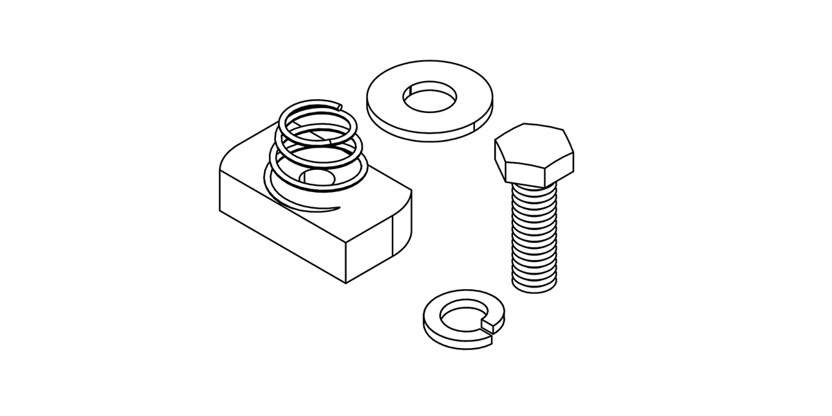 Side Mount Hardware kit